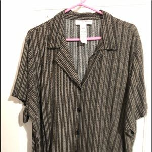 Women's Sag Harbor rayon blouse